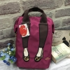 Mis Zapatos Nylon Backpack *wine