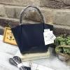 Anello Legato Largo Pu Leather Mini Boston 2 Way Sling *สีกรม