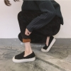 กางเกงขายาว กันหนาว ขนนุ่มใส่อุ่น สีดำ