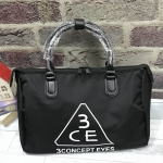 3CE waterproof travel bag *สีดำ