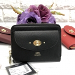 LYN SHORT WALLET BAG *สีดำ