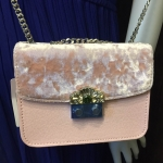 CHARLES & KEITH EMBELLISHED BUCKLE CROSSBODY BAG *สีชมพู