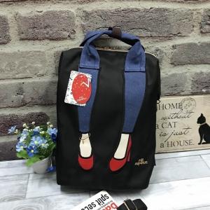 Mis Zapatos Nylon Backpack *black