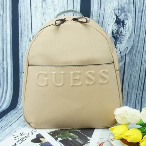 GUESS WOMAN'S BACKPACK *สีครีม