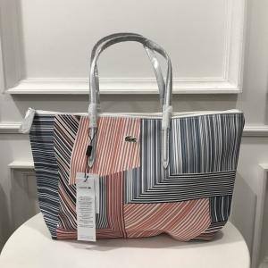 Lacoste Tote Bag กระเป๋าลุคสปอรต *เทา