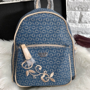 GUESS WOMEN'S CURRAN BACKPACK ONE SIZE HANDBAG *สียีนส์