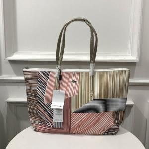 Lacoste Tote Bag กระเป๋าลุคสปอรต *ทอง