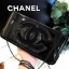 Chanel Cosmetic Cluth Bag With Chain thumbnail 4