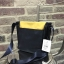 ANELLO MOTTLED FABRIC MINI SHOUDLER BAG WITH FLAP *เหลืองกรม thumbnail 2