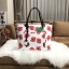 KATE SPADE New York Hyde Lane Poppies Riley Rose Tote Bag *ขาว thumbnail 1