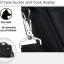 กระเป๋าใส่โน๊ตบุ้ค แล็ปท็อปได้ขนาดใหญ่สุด 15.6 นิ้ว สีเทาเข้ม thumbnail 7