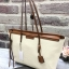 Charles&keith textured tote bag*สีครีม thumbnail 2