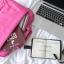กระเป๋าใส่โน๊ตบุ้ค แล็ปท็อปได้ขนาดใหญ่สุด 15.6 นิ้ว สีชมพู สดใส thumbnail 2