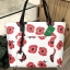 KATE SPADE New York Hyde Lane Poppies Riley Rose Tote Bag *ขาว thumbnail 2