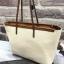 Charles&keith textured tote bag*สีครีม thumbnail 3