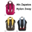 Mis Zapatos Nylon Backpack *black thumbnail 5