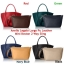 Anello Legato Largo Pu Leather Mini Boston 2 Way Sling *สีดำ thumbnail 5
