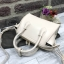 CHARLES & KEITH DOUBLE ZIP STRUCTURED BAG *สีขาวงาช้าง thumbnail 2