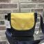 ANELLO MOTTLED FABRIC MINI SHOUDLER BAG WITH FLAP *เหลืองกรม thumbnail 1