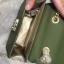 CHARLES & KEITH EMBELLISHED BUCKLE CROSSBODY BAG *สีเขียว thumbnail 3