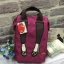 Mis Zapatos Nylon Backpack *wine thumbnail 1