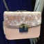 CHARLES & KEITH EMBELLISHED BUCKLE CROSSBODY BAG *สีชมพู thumbnail 1