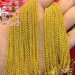 สร้อยคอทองแท้ 96.5% ลายผ่าหวาย หนัก 2 สลึง (7.6 กรัม) *เลือกความยาวได้*