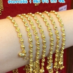 สร้อยข้อมือทองแท้ 96.5% หนัก 1 สลึง (3.8 กรัม) ยาว 15.5 เซน