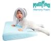 [สีฟ้า] MumMom หมอนกันกรดไหลย้อนสำหรับเด็ก แหวะนม & Baby Pillow (อายุ 0-5 ปี)