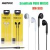 REMAX RM-303 หูฟัง Smalltalk PURE MUSIC
