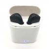 หูฟังบลูทูธ HBQ i7S TWS แบบคู่ +กล่องจัดเก็บเป็นแท่นชาร์จในตัว สีขาว-ดำ