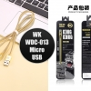 WK KINGKONG WDC-013 Micro USB charger cable