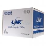 สายแลนมีสลิง LINK CAT 6 Outdoor US-9106M 305 เมตร (ภายนอกอาคาร)
