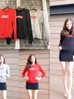 เสื้อแฟชั่น Supreme Sweater