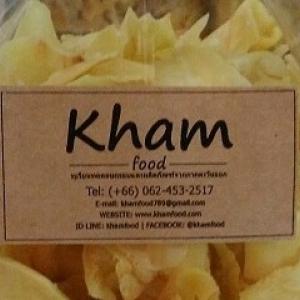 ทุเรียนทอดอบกรอบ ตราคราม - Kham