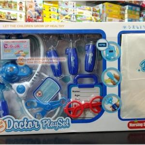 ( เครื่องมือหมอ ชุดหมอ ) ชุดคุณหมอพร้อมอุปกรณ์ ชุดกราว