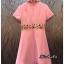 เดรสเกาหลี พร้อมส่ง Dress ตกแต่งงานปัก thumbnail 4