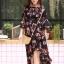 ชุดเดรสเกาหลี พร้อมส่ง dress ปริ้นลายดอก thumbnail 16