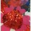 ชุดเดรสเกาหลี พร้อมส่ง เดรสยาว ลายดอกกุหลาบผสมลายหัวใจ thumbnail 10