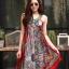 ชุดเดรสเกาหลี พร้อมส่ง Dress ผ้าซาตินเกรด พรีเมียม thumbnail 8
