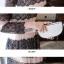 ชุดเดรสเกาหลี Maxi dress พิมพ์ลายดอก ทรงอกป้ายไขว์ thumbnail 11