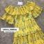 ชุดเดรสเกาหลี พร้อมส่ง Maxi Dress เปิดไหล่ thumbnail 6
