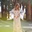 Maxi dress พร้อมส่ง เดรสเกาหลี สไตล์โบฮี ปักลาย thumbnail 2