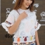 เสื้อเกาหลี พร้อมส่ง เสื้อคอกลม แขนสั้น thumbnail 6