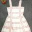 ชุดเดรสเกาหลี พร้อมส่ง Dress Ks สายเดี่ยวเส้นใหญ่ thumbnail 7