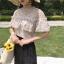 พร้อมส่ง เสื้อผ้าผูกไม้สีแอปริคอท thumbnail 1