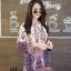 เสื้อเกาหลี พร้อมส่ง เสื้อเชิ้ต คอจีน ลายไทย thumbnail 12