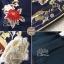 เดรสเกาหลี พร้อมส่ง ชุดเดรส ผ้าผสมsilk ปักลายดอกไม้ thumbnail 7