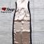 ชุดเดรสเกาหลี พร้อมส่ง Maxi Dress สายเดียว ผ้าสีพื้นมันเงา thumbnail 12