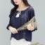 เสื้อเกาหลี พร้อมส่ง เสื้อ Bohimien Style งานปัก thumbnail 4